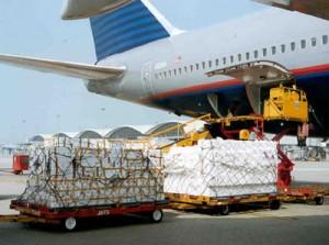 transport de marchandise par avion- transport aérien
